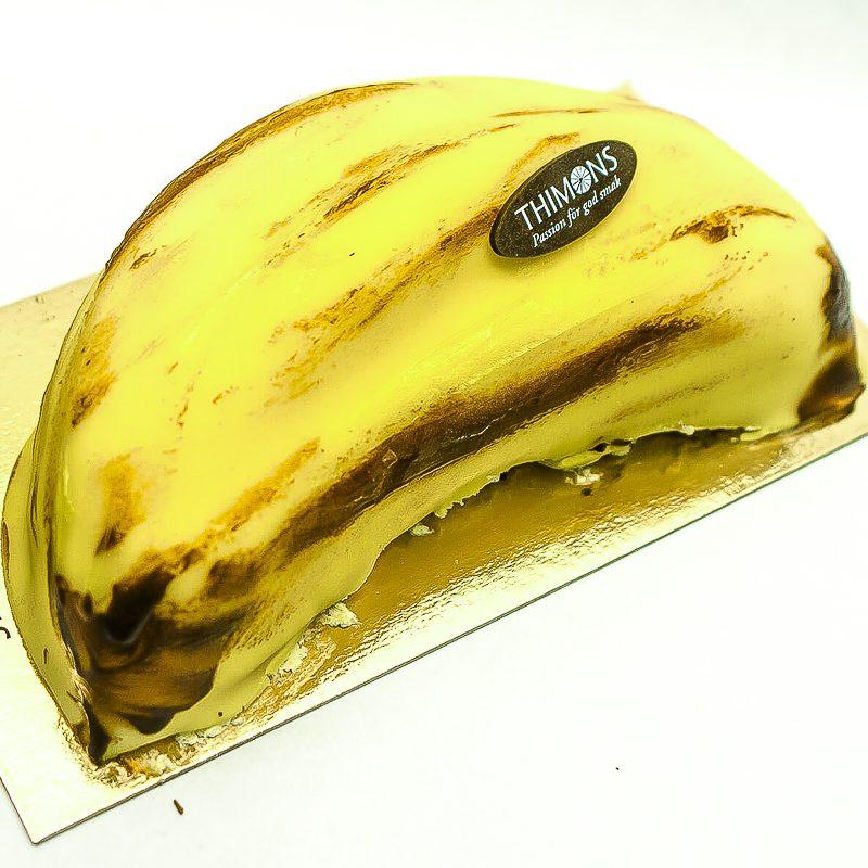 Bananlängd Tårta
