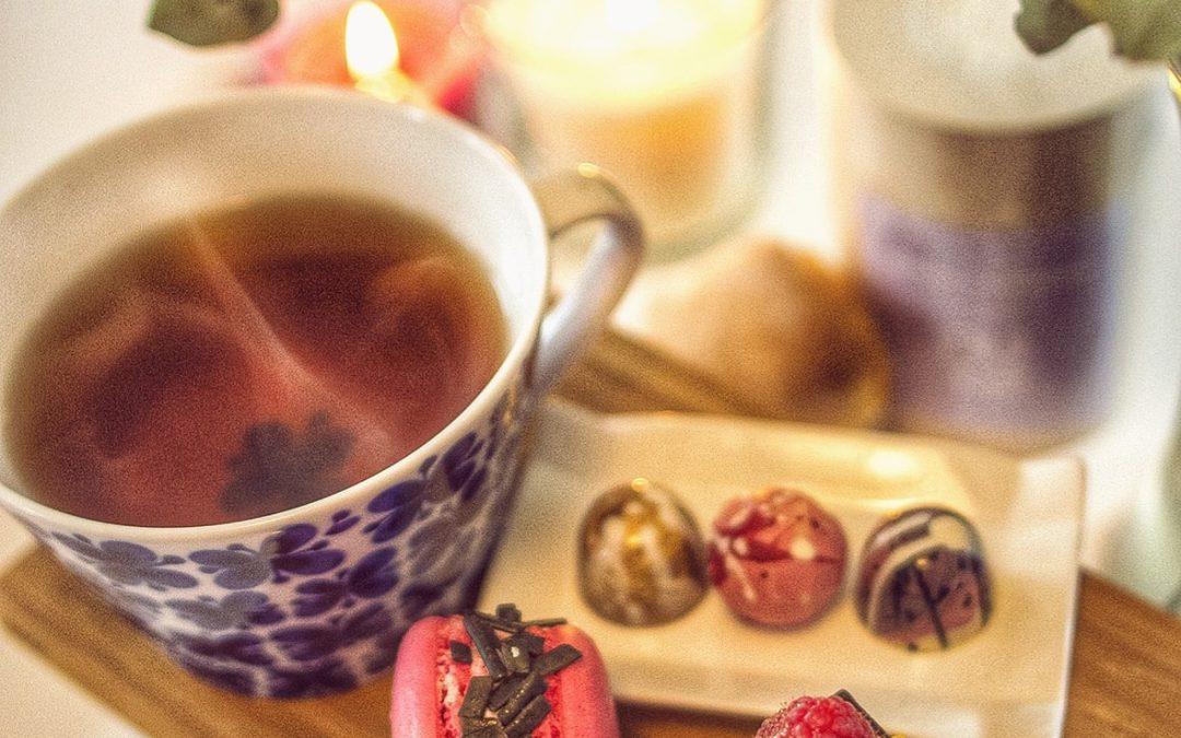 Afternoon tea I Aneby under oktober